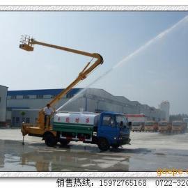 东风高空作业带洒水车