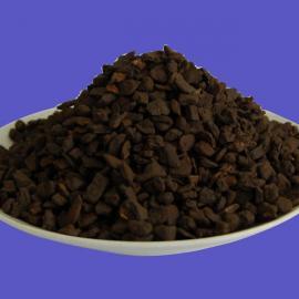 河南除铁除锰锰砂滤料厂家 养殖业专用锰砂填料价格