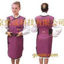 无袖双面连体重叠式射线防护服