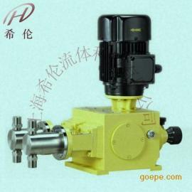 �C械柱塞式�量泵