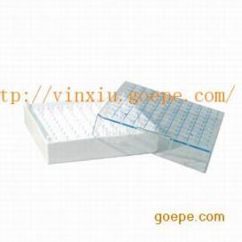 塑料冻存盒(液氮用)