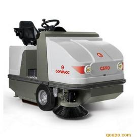 驾驶式无尘清扫车,柴油/汽油发动扫地机