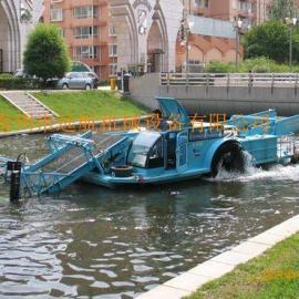 水面割草船