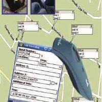 记录仪方位自动扫读器 Patroller GPS Mapping