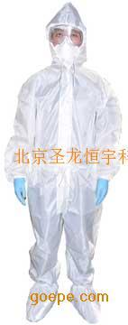 圣龙恒宇生产批发耐酸碱重复使用连体防护服