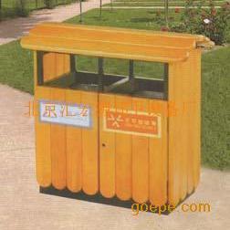 北京钢木垃圾桶厂家