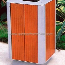 环保垃圾桶,木条垃圾桶,耐用垃圾桶