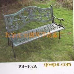 房山区休闲铁艺座椅