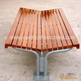 简洁公园椅,公园椅系列,实木公园椅