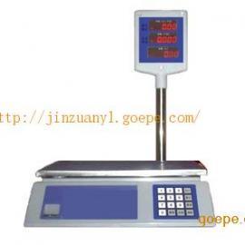 带立杆计价秤,3千克15公斤计价电子秤