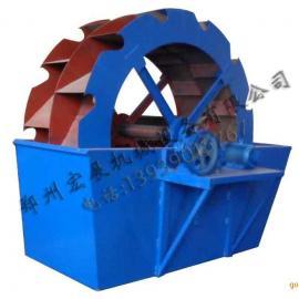 洗砂机(洗沙机,洗石机),XSD轮式洗砂机,轮斗洗砂机价格