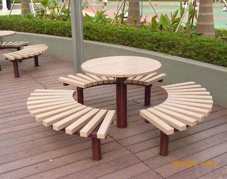 供应户外休闲桌椅,优质园林桌椅