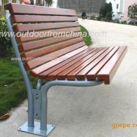 实木公园椅,实木休闲椅,户外家具