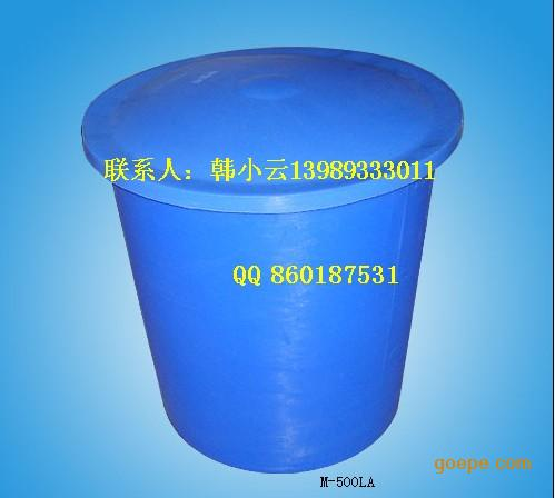 龙山200L滚塑圆桶,工业耐老化圆桶,食品级200L塑胶桶