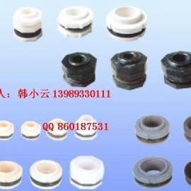 生产供应PVC水箱接头 ABS水箱夹,鱼缸接头管件 型号25-110