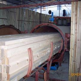 绍兴木材防腐设备、绍兴木材阻燃罐、绍兴真空加压罐