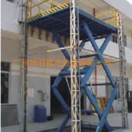 固定式升降货梯,载重3吨液压升降平台