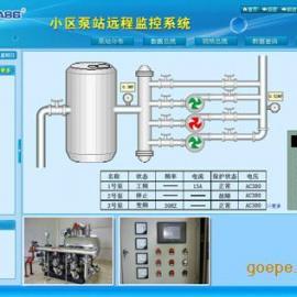 小区自来水加压泵站监控
