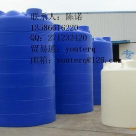 供应20吨滚塑塑胶容器、原水箱厂家