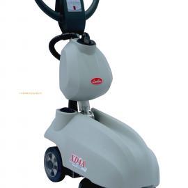 小型电瓶式洗地机,手推式吸尘吸水洗地机