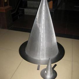 无锡锥形过滤网管,不锈钢网筒,丝网过滤器材