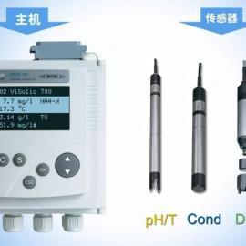 五参数水质自动监测仪pH电导率,溶氧