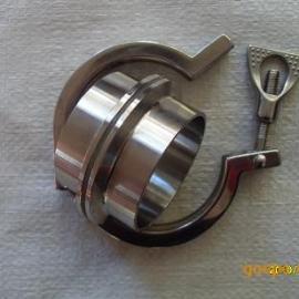 不锈钢卡箍接头成套配件供应