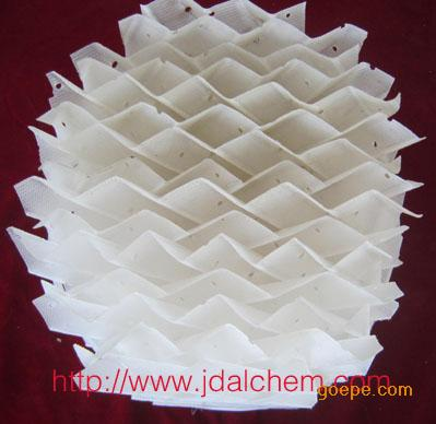 塑料孔板波纹填料 塑料板波纹填料 吸收塔、冷却塔、清净塔用塑料