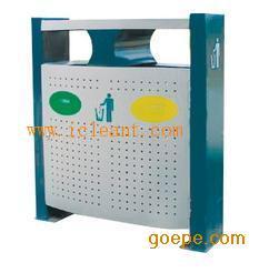 GPX-95A 广州南方仿木烤漆户外分类果皮箱
