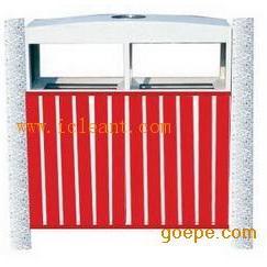 GPX-58A 广州南方仿木烤漆户外园林垃圾桶