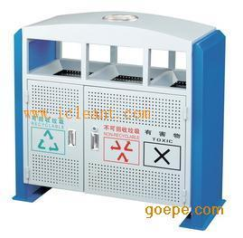 GPX-95 广州南方山樟木分类户外分类果皮箱