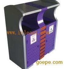 GPX-72 广州南方公园锥顶山樟木垃圾分类果皮箱
