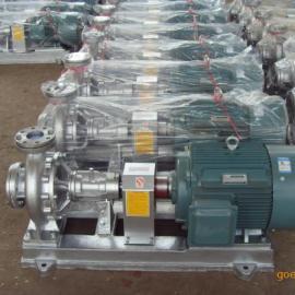 WRY350无水冷却封闭式导热油泵