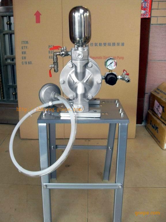 台湾三丰气动双隔膜泵图片