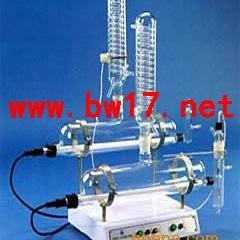 自动双重纯水蒸馏器 用高硼硅玻璃蒸馏器