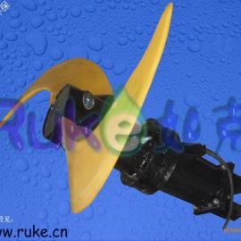 潜水推流器CAD平面图、废水池潜水推进器、低速潜水推进器