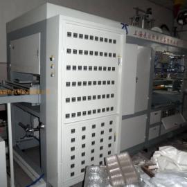 上海展仕全封闭恒温式自动高速吸塑机