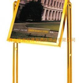 深圳不锈钢钛金指示牌 酒店广告牌