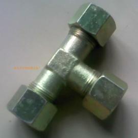 润滑液压管路附件焊接式三通管接头