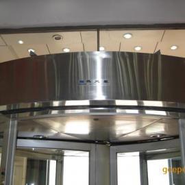弧形电热风幕机