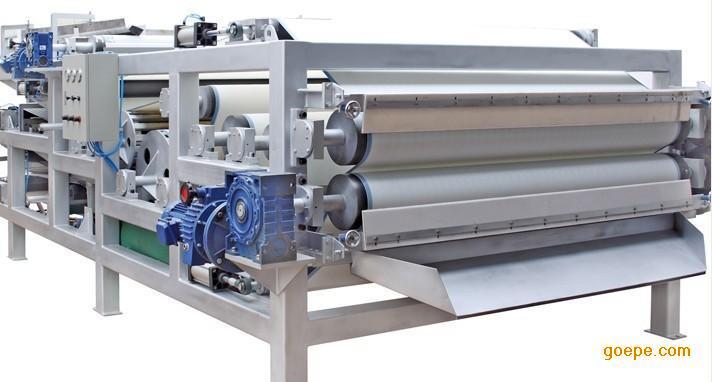 新一代污泥脱水一体化带式压滤机