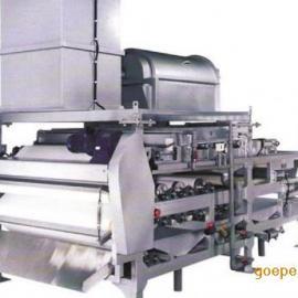 浓缩带式污泥脱水机――带式压滤机