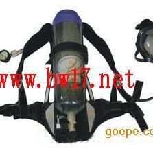 正压式消防空气呼吸器 自给开放式空气