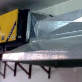 厨房烟罩烟管白铁通风工程