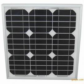 25W单晶太阳能电池板