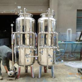 不锈钢砂滤、碳滤过滤器