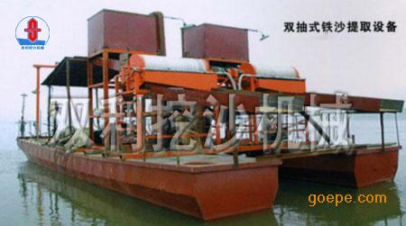 湖北抽沙选铁船