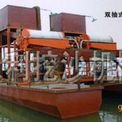 双磁辊选铁船