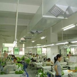 连州环保空调水帘冷风机厂房降温设备