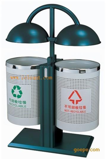 房间垃圾桶(中号木纹色)